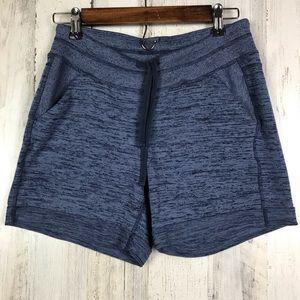 Athleta | Cotton Purple Shorts Size Small